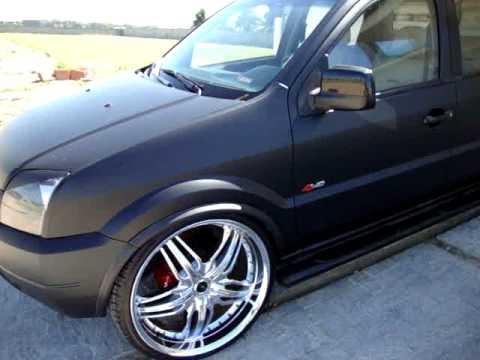 EcoSport 4WD Preto Fosco Aro 22