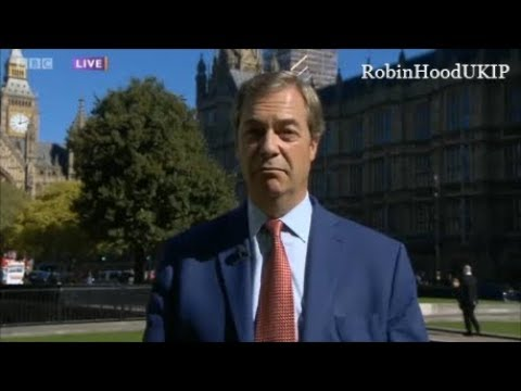 Nigel Farage says Stop wasting time, just leave now