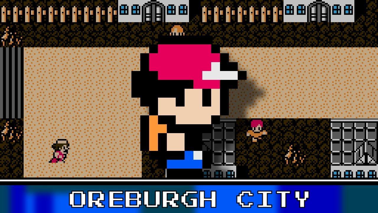 Oreburgh City 8 Bit Remix - Pokemon Diamond/Pearl/Platinum