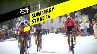 Samenvatting 16e etappe Tour de France 2019
