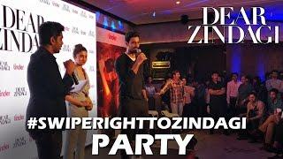 Alia Bhatt, Kunal Kapoor   Tu Hi Hai Song Launch   #SwipeRightToZindagi Party