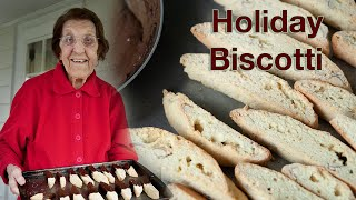 Holiday Cooking with Clara  Chocolate Almond Biscotti