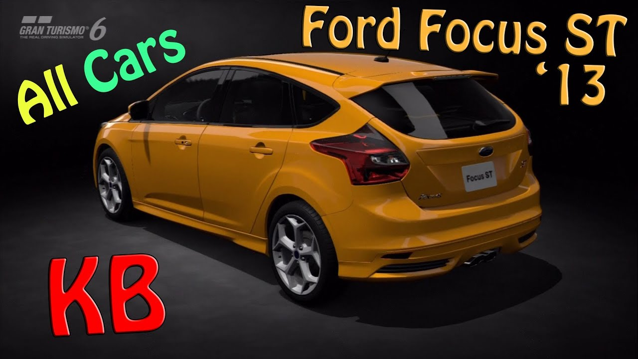 Ford focus st 13 top speed and test gt6