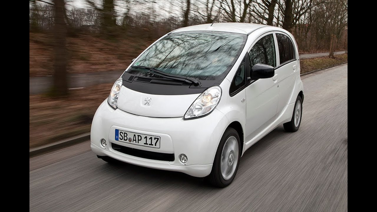 Peugeot iOn - Elektroauto im Alltagstest - YouTube