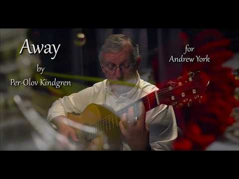 Away (for Andrew York)