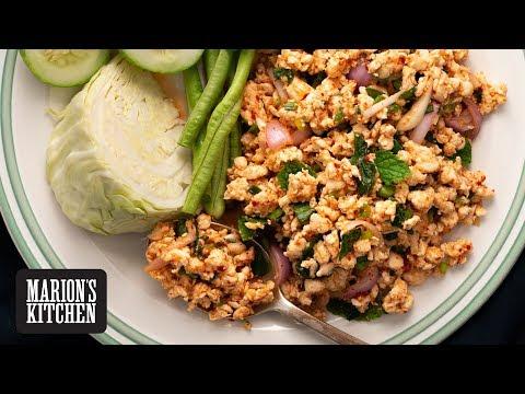 Spicy Thai Chicken 'Laab' Salad - Marion's Kitchen