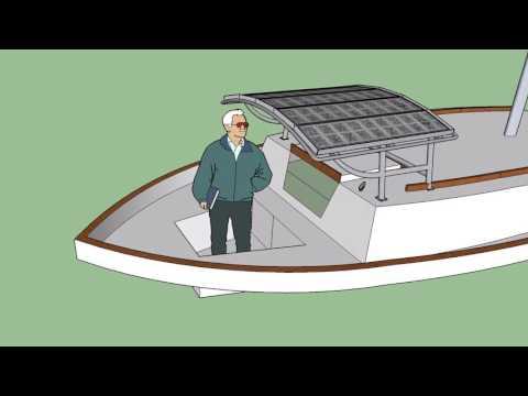 Solar Dodger Cover w/ Watercatching Perimeter