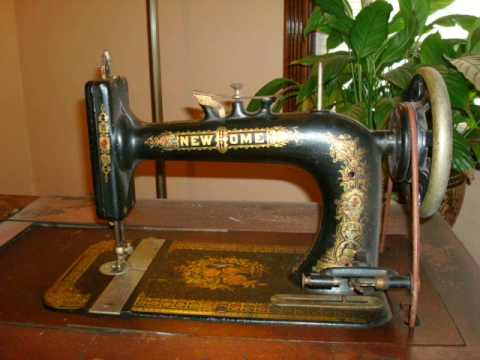 New Home Sewing Machine 40's YouTube Adorable Antique New Home Treadle Sewing Machine Value