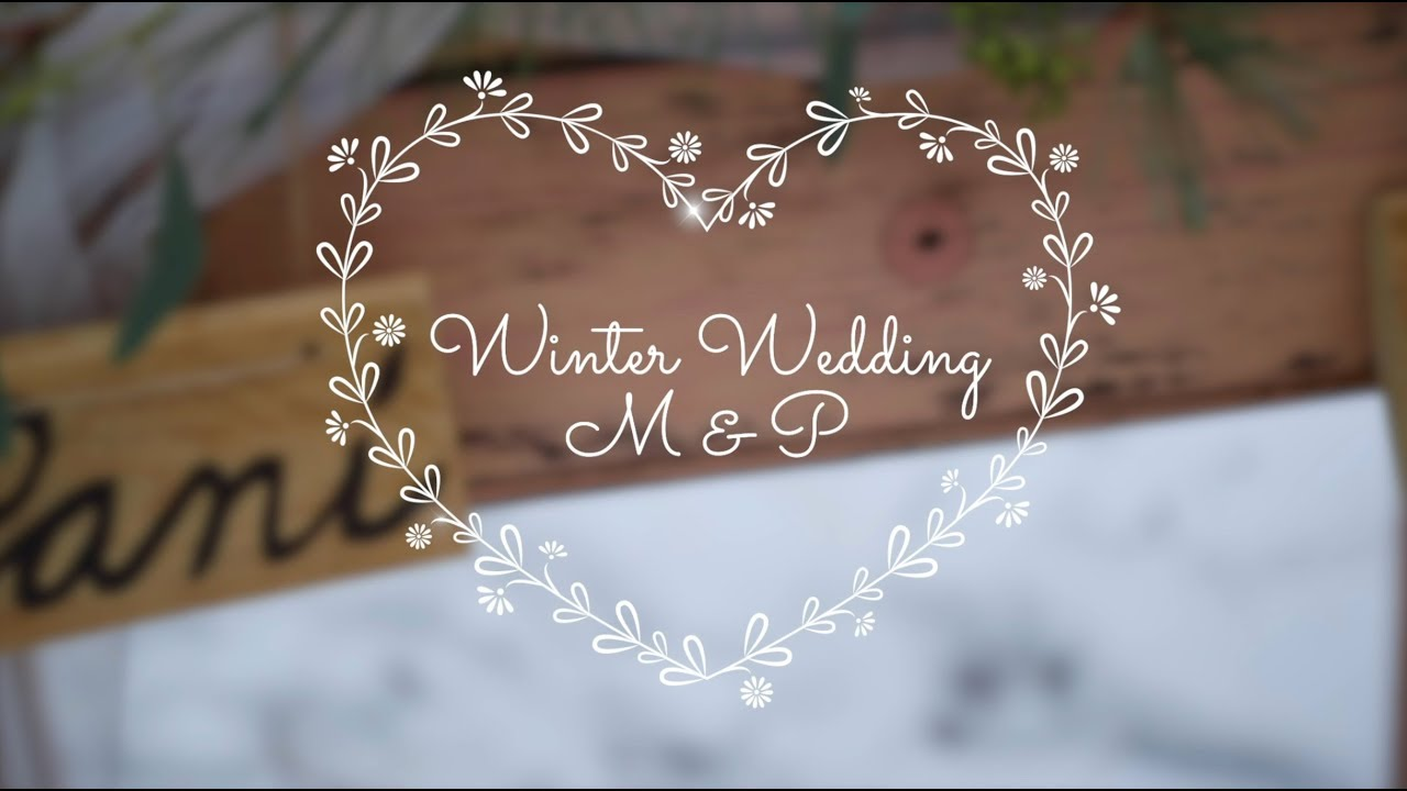 Wedding trends 2019 - Winter Wedding Promo Video