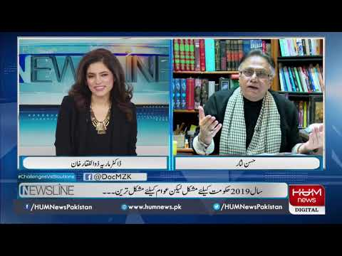 Program Newsline With Dr Maria Zulfiqar, 29 Dec  2019 L HUM News