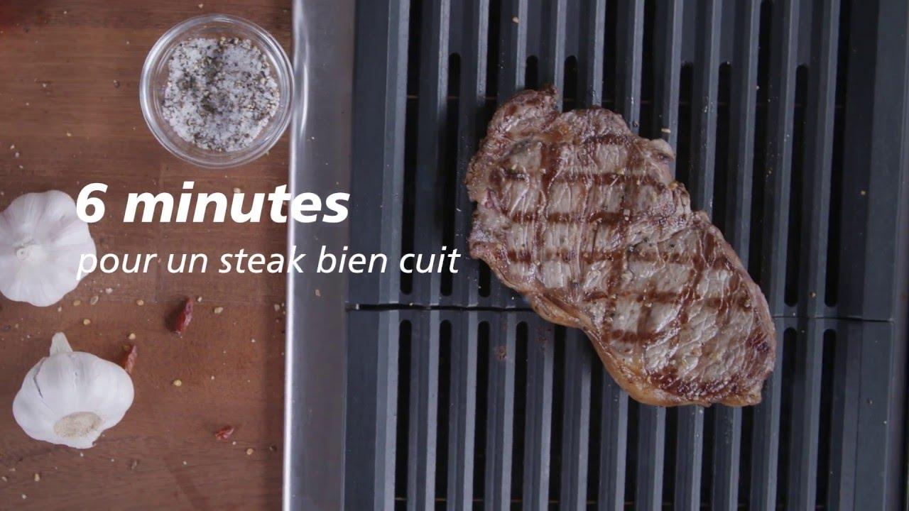 comment griller un steak la perfection youtube. Black Bedroom Furniture Sets. Home Design Ideas