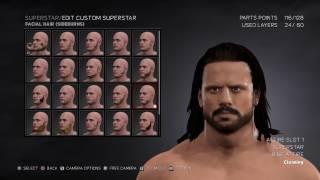 WWE 2K17 John Morrison (CAW) Tutorial (PS4 Only)