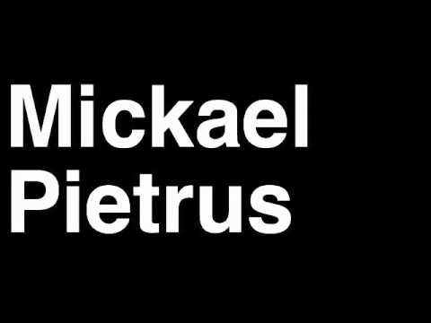 How to Pronounce Mickael Pietrus Boston Celtics NBA Basketball Player Runforthecube