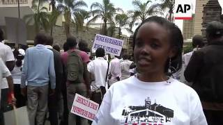 Marchers accuse parliament of bleeding the country dry