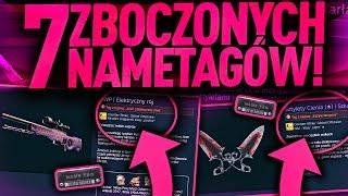 7 ZBOCZONYCH NAMETAGÓW W CS:GO!