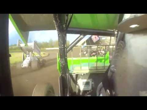 GFRA Sprint Car Heat 1,  Aug. 26, 2016