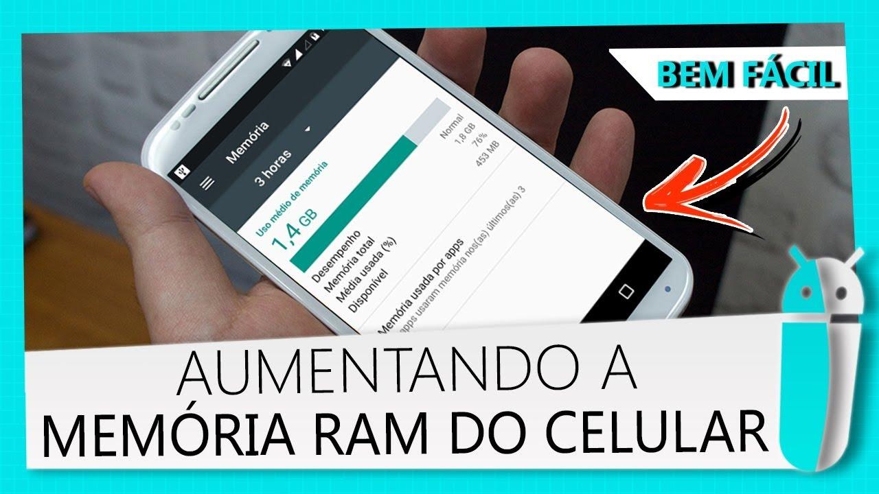 Como Aumentar A Memoria Ram Do Android Sem Root Youtube