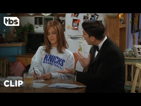 Friends: A Petty Rachel Won't Go to Ross' Party (Season 3 Clip) | TBS