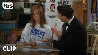 Friends: A Petty Rachel Won't Go to Ross' Party (Season 3 Clip)   TBS