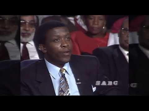 SABC News to rebroadcast the 1994 Mandela, De Klerk election debate