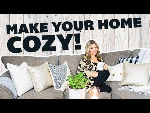 How to Make Your Home Cozy ☕ How to Decorate a Beautiful Cozy Living Room ☕