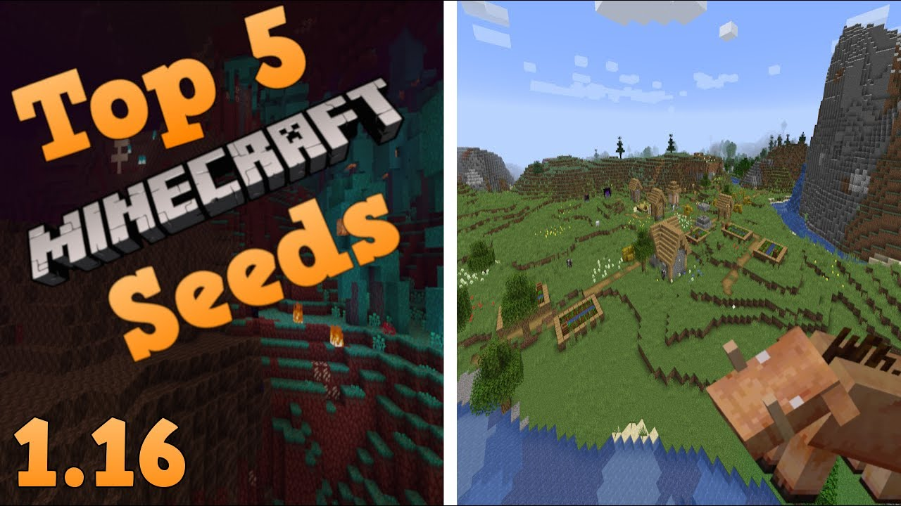 Top 5 Epic Seeds For Minecraft 1 16 The Nether Update 2020 Part 2 Youtube
