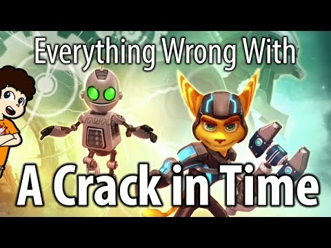 Everything Wrong With Ratchet and Clank: A Crack in Time | valeforXD