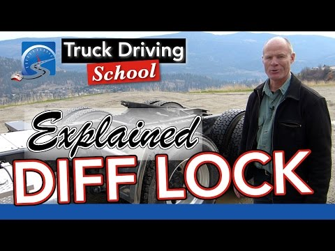 The Differential Lock Explained :: Diff Lock | Truck Driving School