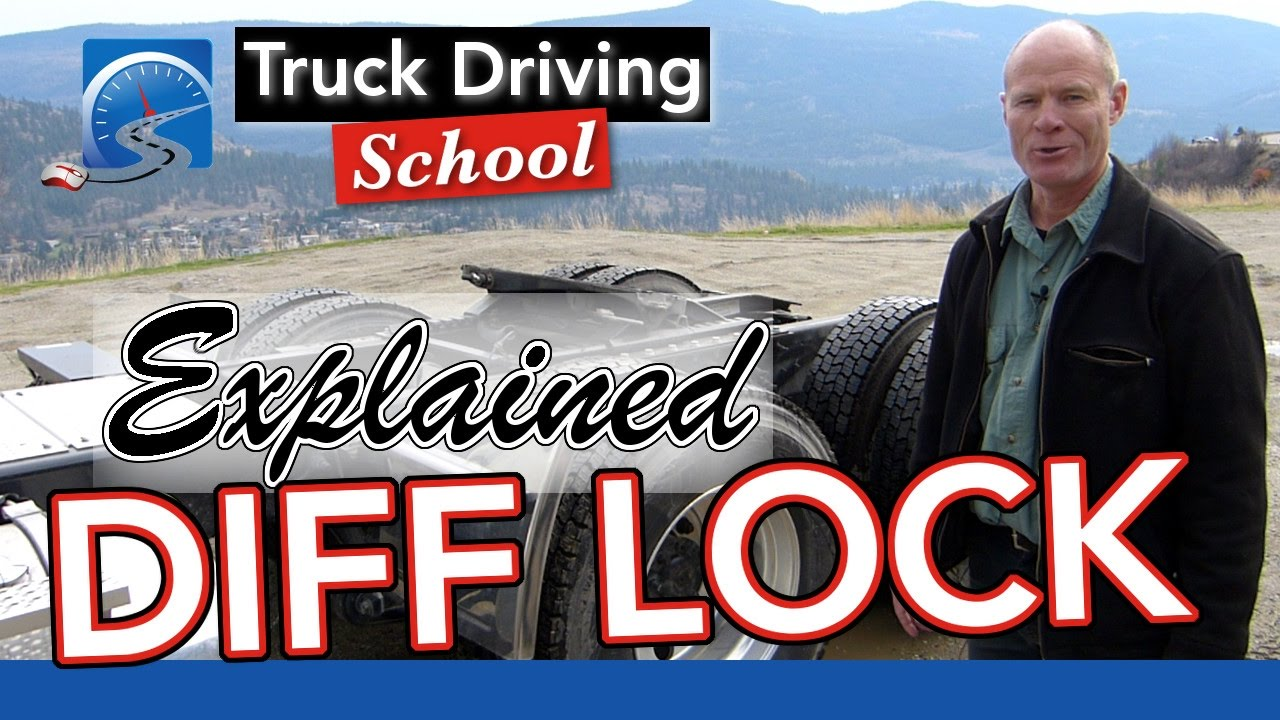 medium resolution of the differential lock explained diff lock truck driving school youtube