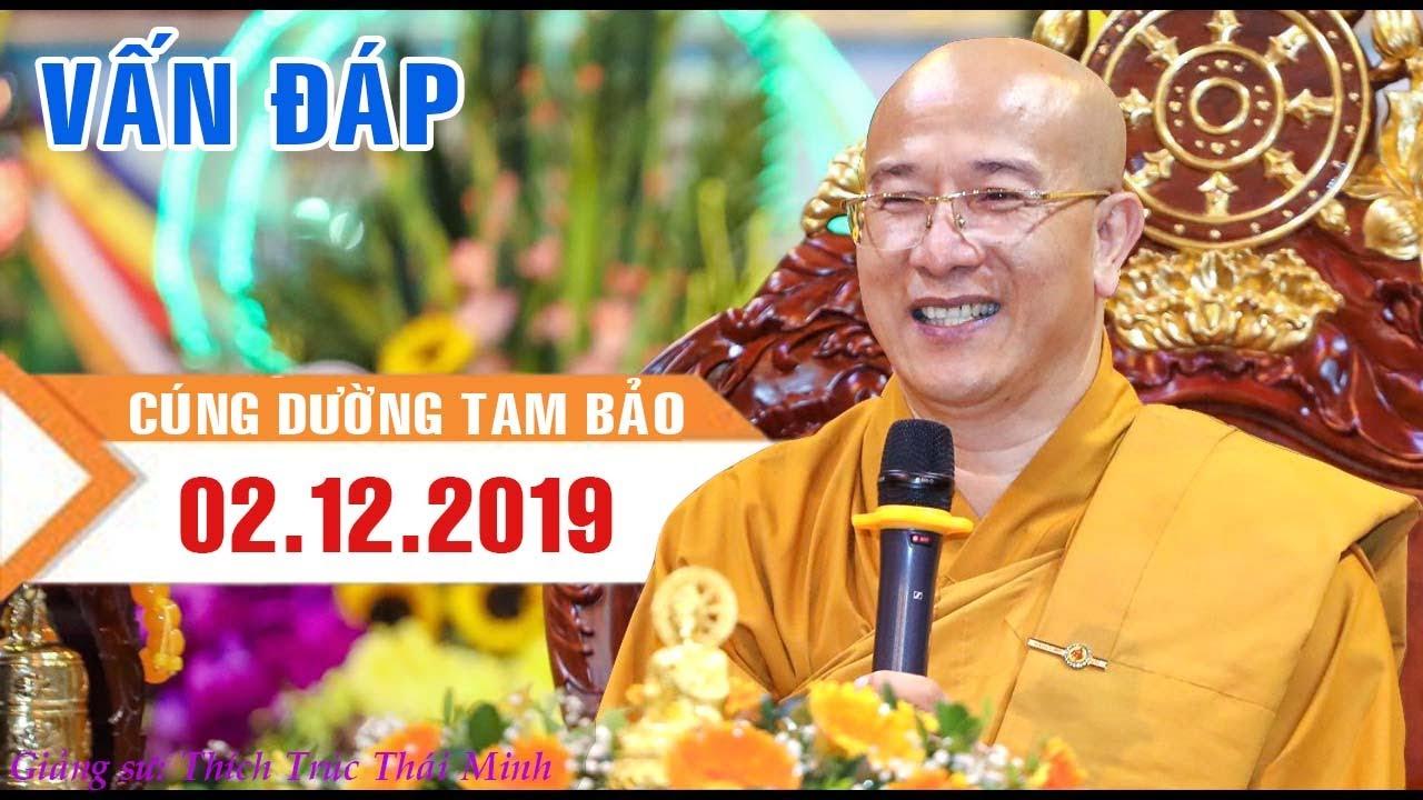 Vấn đáp về cách Cúng Dường rất hay – Thầy Thích Trúc Thái Minh (mới nhất)