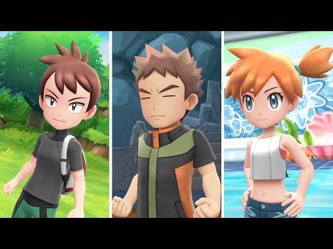 Explora el mundo de Pokémon: Let's Go, Pikachu! y Pokémon: Let's Go, Eevee!