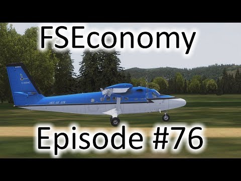 FSX | FSEconomy Ep. #76 - Aurora to Scappoose to Rochester | Twin Otter