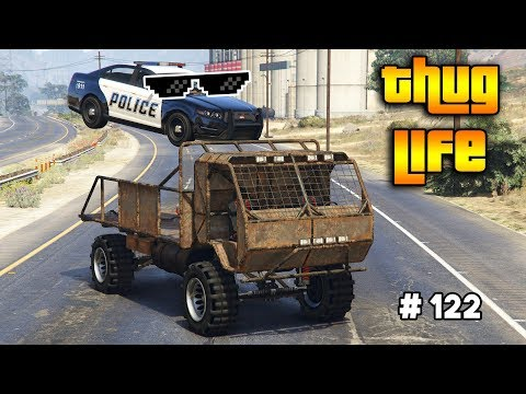 GTA 5 ONLINE : THUG LIFE AND FUNNY MOMENTS (WINS, STUNTS AND FAILS #122)