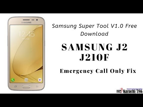 Samsung Galaxy J210F Emergency Call Only Fix With Samsung