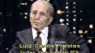 Programa Ferreira Netto - Entrevista com Luiz Carlos Prestes , TV  Record 1989