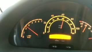 Скорость при 3000-х оборотов,Mercedes Sprinter