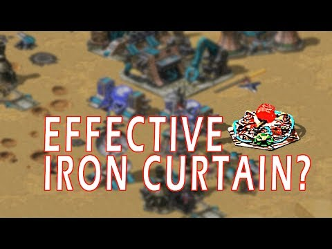 Most effective Iron Curtain? // Command & Conquer