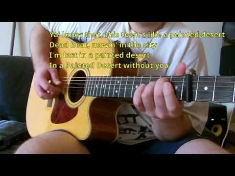 Pat Benatar - Painted Desert KARAOKE GUITAR REQUEST