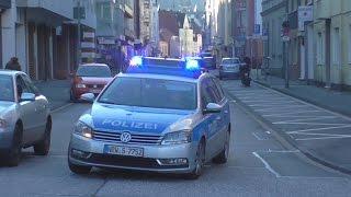 [AUS ALLEN RICHTUNGEN] 2 RTW´s BF + 4 FuStKW Polizei Hagen