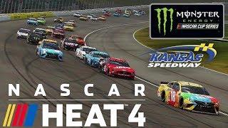 KANSAS   NASCAR Heat 4   Championship Season   Monster Energy NASCAR Cup Series   Race 12
