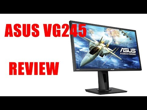 ASUS VG245 REVIEW | BUDGET GAMING | BEST CONSOLE GAMING