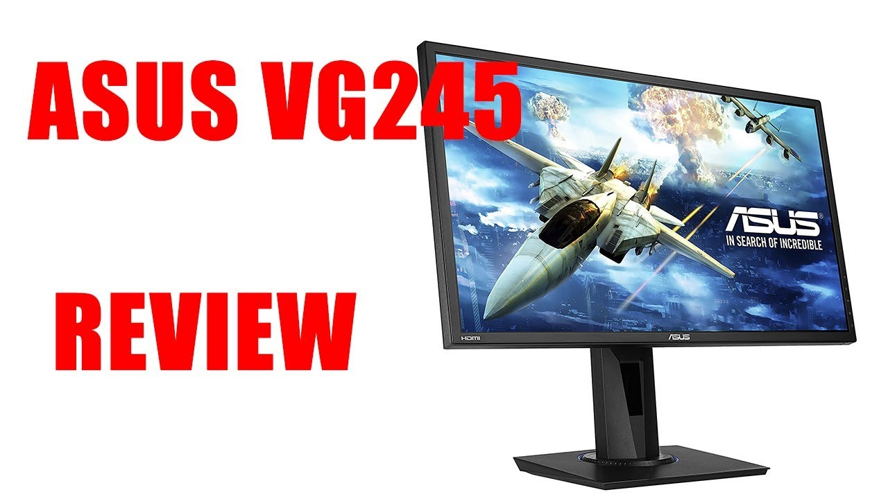 ASUS VG245 REVIEW | BUDGET GAMING | BEST CONSOLE GAMING MONITOR FOR THE  PRICE