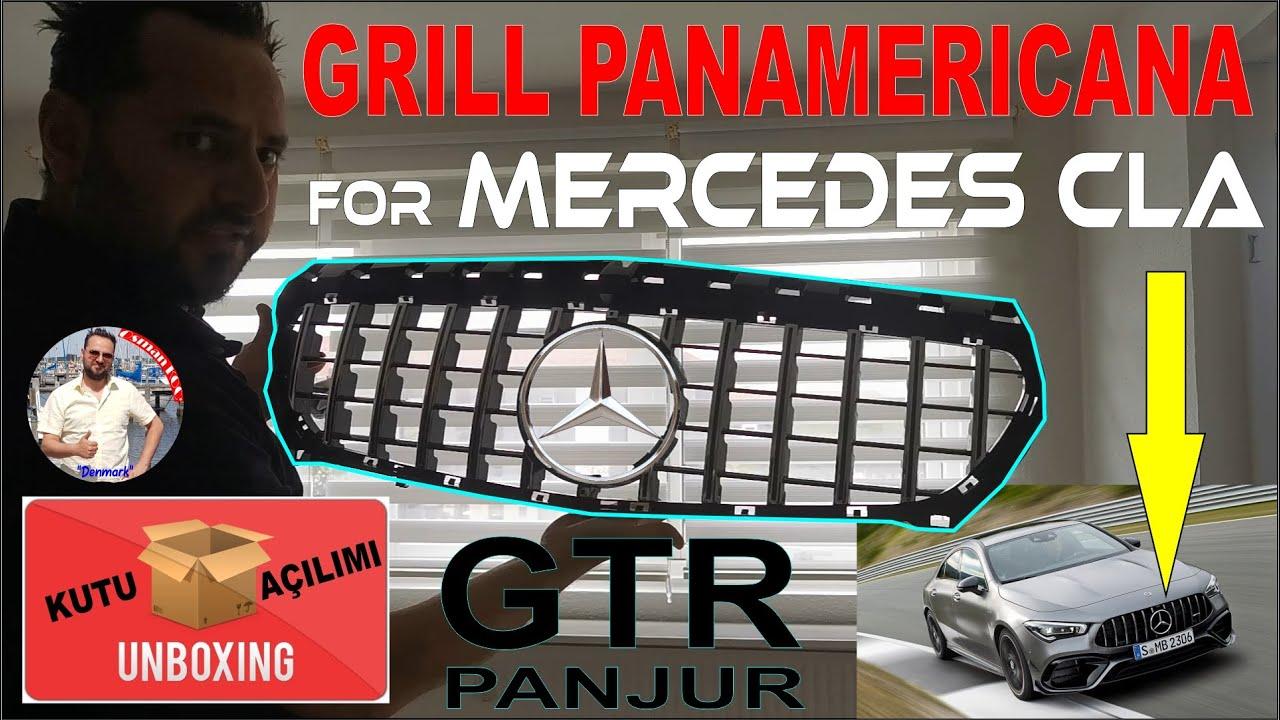 Mercedes GTR Panjur Kutu Açılımı | Grill Panamericana Unboxing