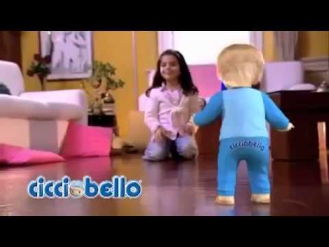 Cicciobello: mászó, sétáló baba
