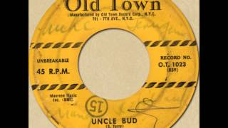SONNY TERRY - UNCLE BUD [Old Town 1023] 1956