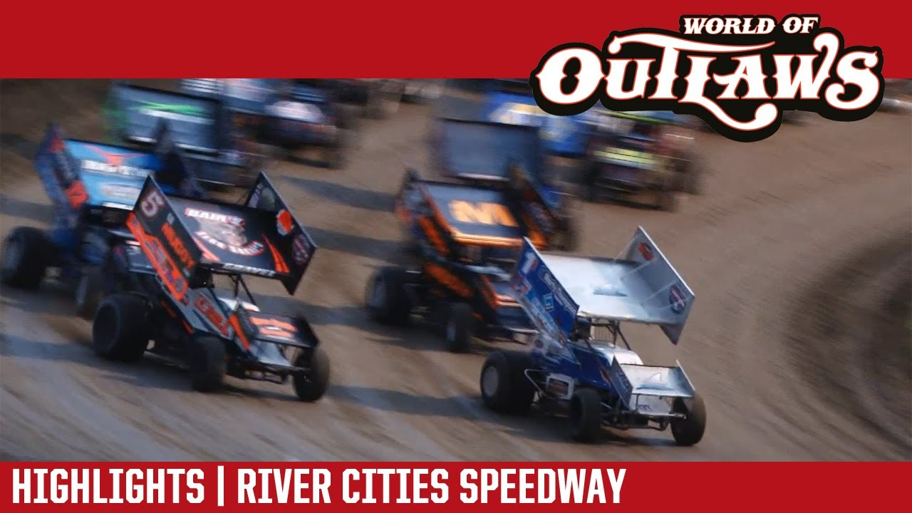 world of outlaws craftsman sprint cars river cities speedway june