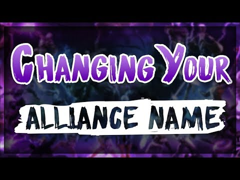 How To Change Your Alliance Name In MCoC
