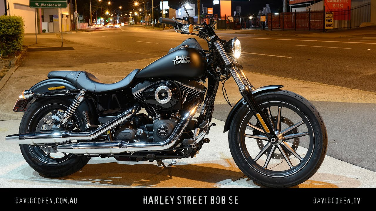 2016 fxdb street bob special edition test youtube. Black Bedroom Furniture Sets. Home Design Ideas