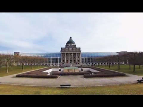 360 VR Tour   Munich   Hofgarten   Bavarian State Chancellery   War memorial   No comments tour