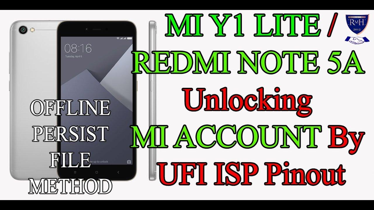 Offline New Mi Account Unlock Method By UFI ISP Pinout (MUST WATCH)